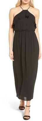 Women's Lush Ruffle Maxi Dress $55 thestylecure.com