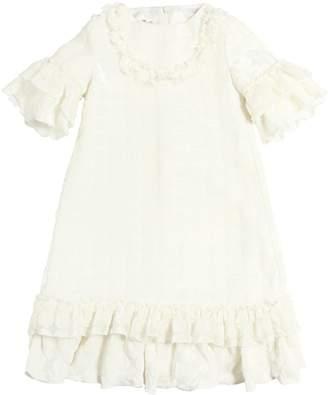 La Stupenderia Polka Dot Devorè Dress