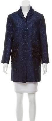 Andrew Gn Embellished Patterned Jacket