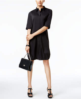 Alfani Prima Bungee-Hem Shirtdress, Created for Macy's $99.50 thestylecure.com