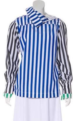 Sonia Rykiel Stripe Long Sleeve Top