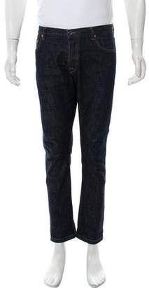 Valentino Cropped Five Pocket Skinny Jeans