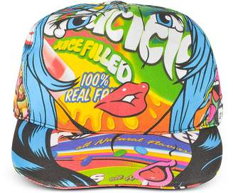 Moschino Juicicle Comic Girl Cotton Baseball Cap