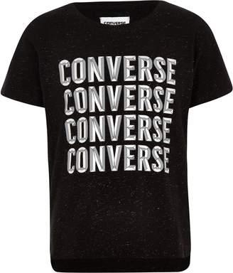 Converse Girls Black T-shirt