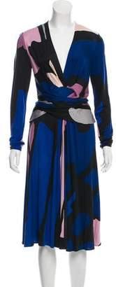 Issa Midi Wrap Dress