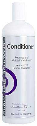 Curly Hair Solutions CURLY HAIR SOLUTION - Silk Conditioner (33.8 Ounce / 1000 Milliliter)