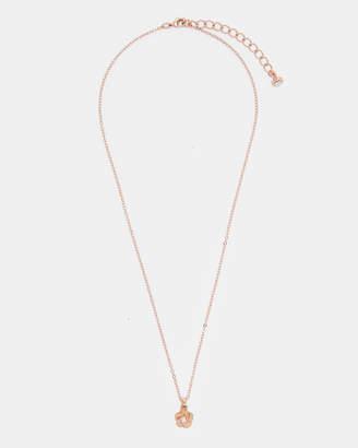 Ted Baker PARNELA Polished flower pendant