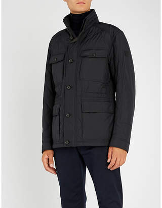 BOSS Stand-collar padded jacket