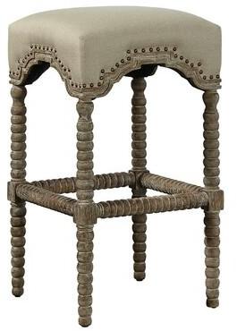 Furniture Classics Backless Castle Bar Stool Furniture Classics