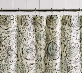 Pottery Barn Haylie Print Shower Curtain