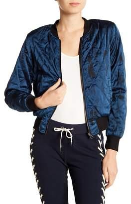Pam & Gela Tie Dye Bomber Jacket