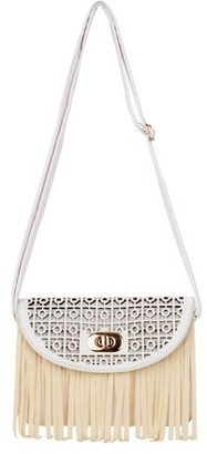 Aerusi Women Fringe Tassel Cross Body Bag Leisure Shoulder Bag