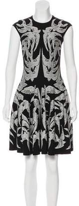 Alexander McQueen Jacquard Dove Dress