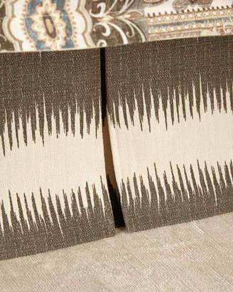 Jane Wilner Designs King Phoebe Stripe Dust Skirt