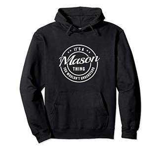 Mason - Personalized Name Unisex Pullover Hoodie