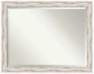 One Kings Lane Ava III Wall Mirror - White