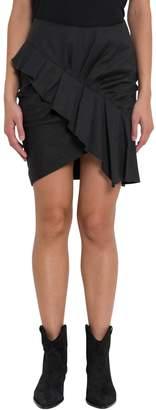 Etoile Isabel Marant Short Skirt With Rouches