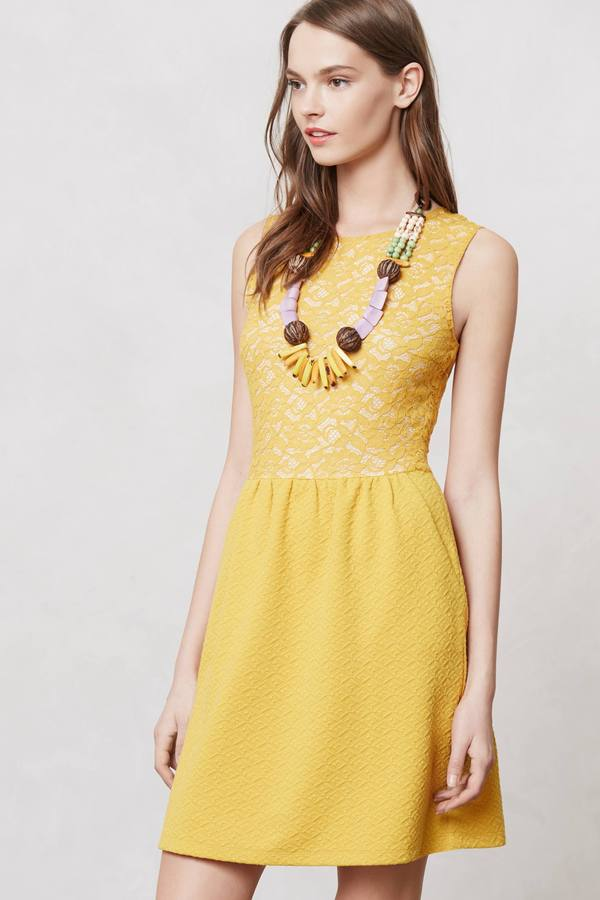 Anthropologie Vera Lace Dress