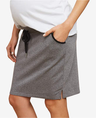 Motherhood Maternity French Terry Skirt