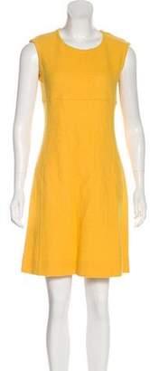 St. John Wool Mini Dress