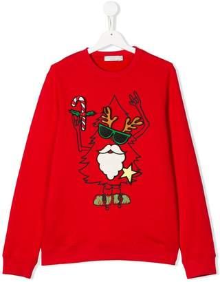 Stella McCartney TEEN Christmas sweatshirt