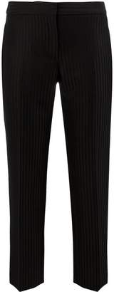 Alexander McQueen striped tailored trousers