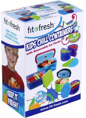 Fit & Fresh Fit and Fresh Kid's 6 Container Food Storage Set