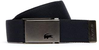 Lacoste Men's Two Buckles And Two Belts Travel Kit