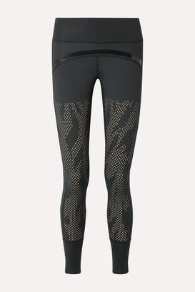 adidas by Stella McCartney Training Believe This Perforated Climalite Leggings - Black