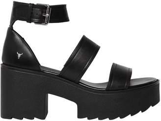 Windsor Smith 80mm Sada Leather Sandals