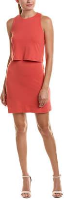 Susana Monaco Sleeveless Overlay Dress