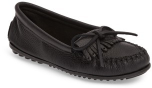 Women's Minnetonka Kilty Moccasin $55.95 thestylecure.com