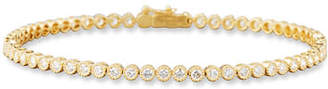 Memoire Diamond Line Bracelet in 18K Yellow Gold