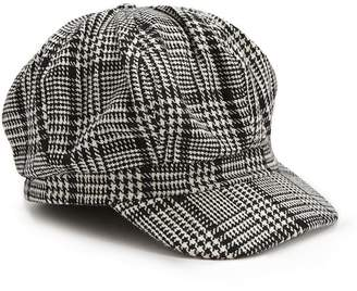 Forever 21 Glen Plaid Cabby Hat