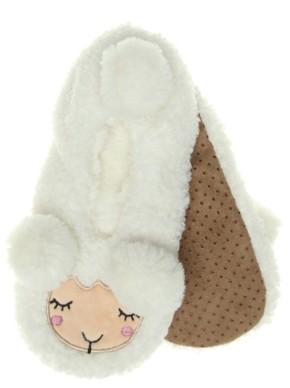 Mix No. 6 Poodle Lamb Women's Slipper Socks