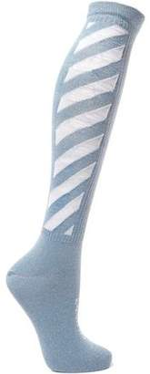 Off-White Off WhiteTM Striped Cotton-blend Socks