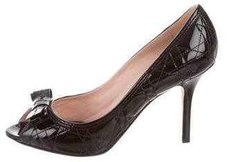 Christian Dior Cannage Bow Pumps