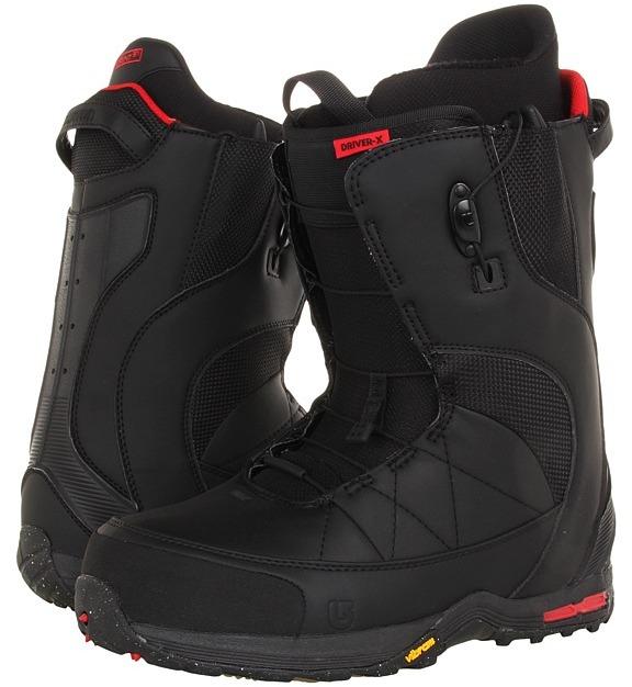 Burton Driver X (Black/Red) - Footwear