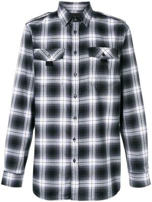 Diesel Black Gold checked classic shirt