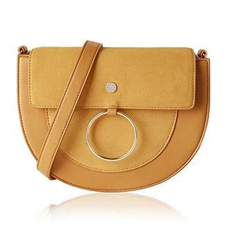 The Lovely Tote Co. Women's Hasp Crossbody Bag Saddle Bag Shoulder Satchel