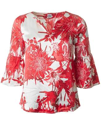Saint Tropez Flower Print Blouse