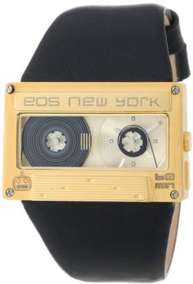EOS New York 302SBLKGLD Mixtape Black with Gold Watch
