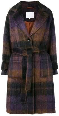 Lala Berlin Janne check coat