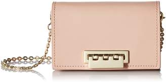 Zac Posen Earthette Card Case with Chain-Solid