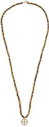 Luis Morais Sun Cross Pendant Necklace
