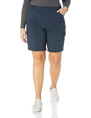 Lee Women's Plus-Size Flex-to-Go Relaxed Fit Cargo Bermuda Short