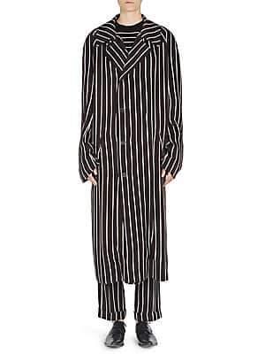 Haider Ackermann Women's Striped Raglan Coat