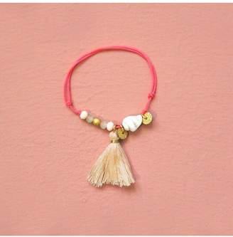 Shashi Louise Misha Bracelet, Blush
