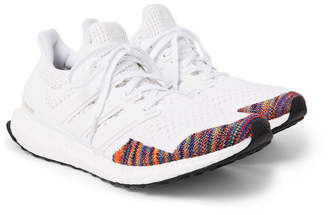 adidas UltraBOOST LTD Rubber-Trimmed Primeknit Sneakers - Men - White