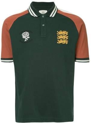 Kent & Curwen classic colour block polo shirt